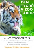 Mezinárodní den tygrů v ZOO Tábor