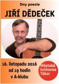 Dny poezie s Jiřím Dědečkem