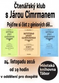 Čtenářský klub s Járou Cimrmanem
