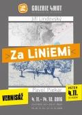 Vernisáž výstavy Za liniemi - Lindovský, Piekar