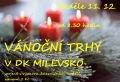 Tradiční vánoční trhy v Milevsku
