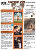 Program Veselského filmového klubu - prosinec 2016