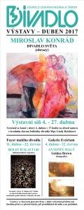 Výstavy divadla DUBEN