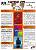 Program Veselského filmového klubu - duben 2017