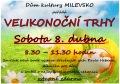 Velikonoční trhy v DK Milevsko