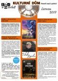 Program Veselského filmového klubu - červen 2017