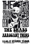 12.8.17 Stánek Tábor - The Shabs (JAR) + Arrogant twins