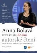 Autorské čtení s Annou Bolavou v Městské knihovně Soběslav