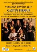 Veselská ozvěna 2017 - Cantus Firmus