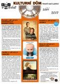 Program Veselského filmového klubu Kulturního domu Veselí n. L. - září 2017