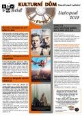 Program Veselského filmového klubu Kulturního domu Veselí nad Lužnicí - listopad 2017 + tipy na vánoční dárky