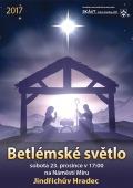 Betlémské světlo 2017 Jindřichův Hradec