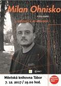Spisovatelé do knihoven : Milan Ohnisko