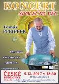 Koncert SPOLEČNÁ VĚC, Tomáš PFEIFFER rozezní Vodnářský zvon