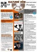Program Veselského filmového klubu KD Veselí n. L. - prosinec 2017