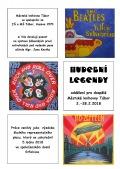 Hudební legendy: výzdoba školního plesu
