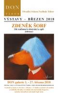 Vernisáž v DON galerii // Zdeněk Šorf - Od realismu k abstrakci a zpět (obrazy)