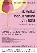 Velký košt vín z Moravy a Čech