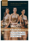 Kruh přátel hudby: TRIO CLAVIO // DON Tábor