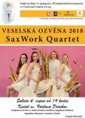 Veselská ozvěna 2018 - SaxWork Quartet