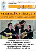 Veselská ozvěna 2018 - Siempre Nuevo a Barbora Polášková