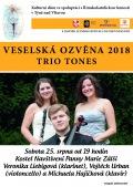 Veselská ozvěna 2018 - Trio Tones