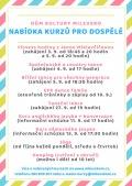 DK Milevsko - nabídka kurzů dospělí