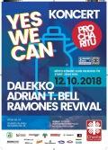 Koncert pro Charitu YES WE CAN 2018