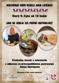 Jak se jedlo za první republiky aneb prvorepubliková gastronomie