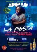 La Fiesta & bongoman Tapha Faye