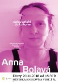 Spisovatelé do knihoven 2018/2019 - Anna Bolavá
