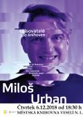 Spisovatelé do knihoven 2018/2019 - Miloš Urban