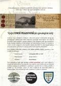 Využití velkostatků pro genealogické účely - David Braný