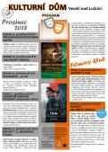 Program Veselského filmového klubu Kulturního domu Veselí nad Lužnicí - prosinec 2018