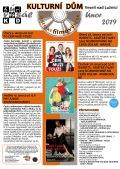 Program Veselského filmového klubu Kulturního domu Veselí nad Lužnicí - únor 2019