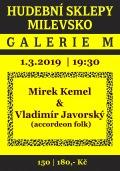 Hudební sklepy Milevsko KEMEL - JAVORSKÝ