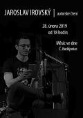 Jaroslav Irovský / autorské čtení