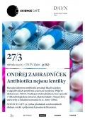 ONDŘEJ ZAHRADNÍČEK - Antibiotika nejsou lentilky // Divadlo Oskara Nedbala Tábor