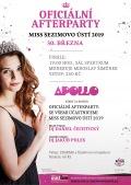 Oficiální afterparty Miss Sezimovo Ústí