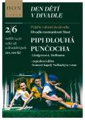 DEN DĚTÍ V DIVADLE - Pipi Dlouhá punčocha | piknik a koncert v parku // DON Tábor