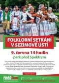 Folklorní setkání Sezimovo Ústí 2019