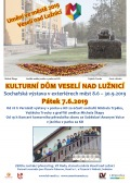 Vernisáž Umění ve městě 2019 Veselí nad Lužnicí a koncert Anonym Voice