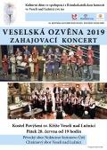 Zahajovací koncert Veselské ozvěny 2019