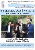 Veselská ozvěna 2019 - Jan Pěruška a synové