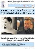 Veselská ozvěna 2019 - Slyš, Ó Bože!, Slyš modlitbu mou