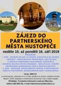 Zájezd do partnerského města Hustopeče