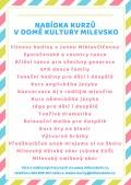 Nabídka kurzů v DK Milevsko