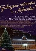 Zahájení adventu v Milevsku