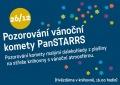 Pozorování vánoční komety PanSTARRS