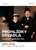 PROHLÍDKY DIVADLA s manželi Nedbalovými // Divadlo Oskara Nedbala Tábor